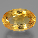 thumb image of 10.5ct Oval Facet Yellow Golden Citrine (ID: 446224)