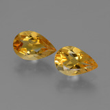thumb image of 2.1ct Pear Facet Yellow Golden Citrine (ID: 446522)