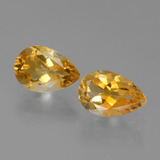 thumb image of 2.2ct Pear Facet Yellow Golden Citrine (ID: 446553)