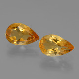 thumb image of 1ct Pear Facet Yellow Golden Citrine (ID: 446554)