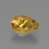 thumb image of 1.2ct Pear Facet Yellow Golden Citrine (ID: 446595)