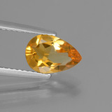 thumb image of 1.1ct Pear Facet Yellow Golden Citrine (ID: 446622)