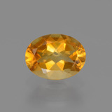 thumb image of 1.1ct Oval Facet Yellow Golden Citrine (ID: 446977)