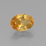 thumb image of 1ct Oval Facet Yellow Golden Citrine (ID: 447096)