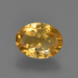 thumb image of 0.9ct Oval Facet Yellow Golden Citrine (ID: 447102)