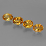 thumb image of 3.9ct Oval Facet Yellow Golden Citrine (ID: 447127)