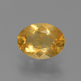 thumb image of 1.1ct Oval Facet Yellow Golden Citrine (ID: 447159)