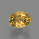 thumb image of 1.2ct Oval Facet Yellow Golden Citrine (ID: 447164)