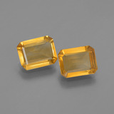thumb image of 2.4ct Octagon Step Cut Yellow Golden Citrine (ID: 447220)