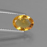 thumb image of 0.9ct Oval Facet Yellow Golden Citrine (ID: 447262)