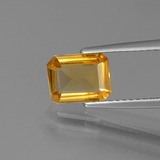 thumb image of 0.9ct Octagon Step Cut Yellow Golden Citrine (ID: 447269)