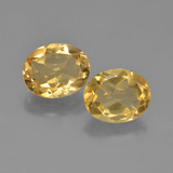 thumb image of 4.1ct Oval Facet Yellow Golden Citrine (ID: 449602)