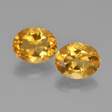 thumb image of 5.1ct Oval Facet Yellow Golden Citrine (ID: 449611)