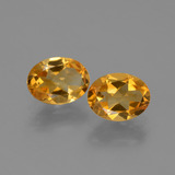 thumb image of 2.3ct Oval Facet Yellow Golden Citrine (ID: 449710)