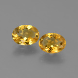 thumb image of 1.9ct Oval Facet Yellow Golden Citrine (ID: 449714)