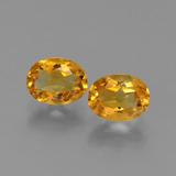 thumb image of 2.4ct Oval Facet Yellow Golden Citrine (ID: 449716)