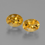 thumb image of 2.4ct Oval Facet Yellow Golden Citrine (ID: 449720)