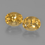 thumb image of 5.6ct Oval Facet Yellow Golden Citrine (ID: 449737)