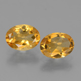 thumb image of 1.9ct Oval Facet Yellow Golden Citrine (ID: 449757)