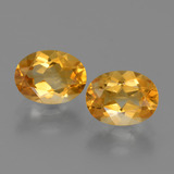 thumb image of 1.2ct Oval Facet Yellow Golden Citrine (ID: 449761)