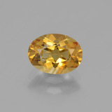 thumb image of 1.1ct Oval Facet Yellow Golden Citrine (ID: 449792)