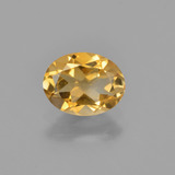 thumb image of 1ct Oval Facet Yellow Golden Citrine (ID: 449830)