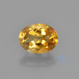 thumb image of 1.1ct Oval Facet Yellow Golden Citrine (ID: 449839)
