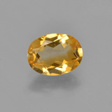thumb image of 1.1ct Oval Facet Yellow Golden Citrine (ID: 449840)