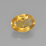 thumb image of 0.8ct Oval Facet Yellow Golden Citrine (ID: 449848)