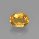 thumb image of 0.9ct Oval Facet Yellow Golden Citrine (ID: 449849)