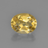 thumb image of 2ct Oval Facet Yellow Golden Citrine (ID: 449873)