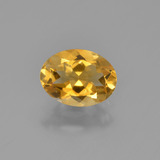 thumb image of 0.9ct Oval Facet Yellow Golden Citrine (ID: 449899)