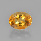 thumb image of 1.2ct Oval Facet Yellow Golden Citrine (ID: 449905)