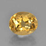 thumb image of 2.5ct Oval Facet Yellow Golden Citrine (ID: 449911)