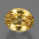 thumb image of 8.2ct Oval Facet Yellow Golden Citrine (ID: 450378)