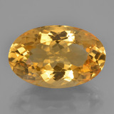 thumb image of 9.8ct Oval Facet Yellow Golden Citrine (ID: 450381)