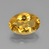 thumb image of 4.6ct Oval Facet Yellow Golden Citrine (ID: 450396)