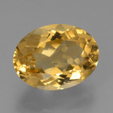 thumb image of 5.9ct Oval Facet Yellow Golden Citrine (ID: 450477)