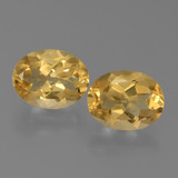 thumb image of 4.1ct Oval Facet Yellow Golden Citrine (ID: 450536)