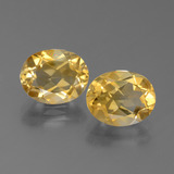 thumb image of 4.5ct Oval Facet Yellow Golden Citrine (ID: 450566)