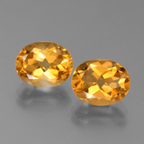 thumb image of 5.2ct Oval Facet Yellow Golden Citrine (ID: 450567)