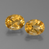 thumb image of 4.7ct Oval Facet Yellow Golden Citrine (ID: 450570)