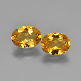 thumb image of 2.1ct Oval Facet Yellow Golden Citrine (ID: 450587)