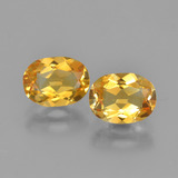 thumb image of 2.4ct Oval Facet Yellow Golden Citrine (ID: 450588)