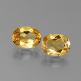 thumb image of 2.4ct Oval Facet Yellow Golden Citrine (ID: 450636)