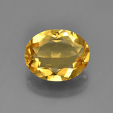 thumb image of 3.2ct Oval Facet Yellow Golden Citrine (ID: 450680)