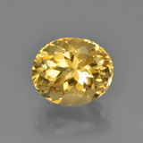 thumb image of 3.9ct Oval Facet Yellow Golden Citrine (ID: 450684)