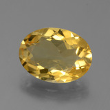 thumb image of 4.4ct Oval Facet Yellow Golden Citrine (ID: 450707)