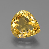 thumb image of 4.7ct Pear Facet Yellow Golden Citrine (ID: 450715)