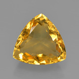 thumb image of 4ct Trillion Facet Yellow Golden Citrine (ID: 450750)